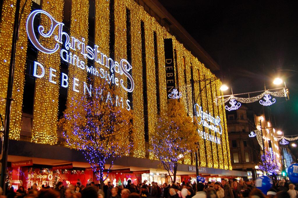 Julshoppingen är bäst i London