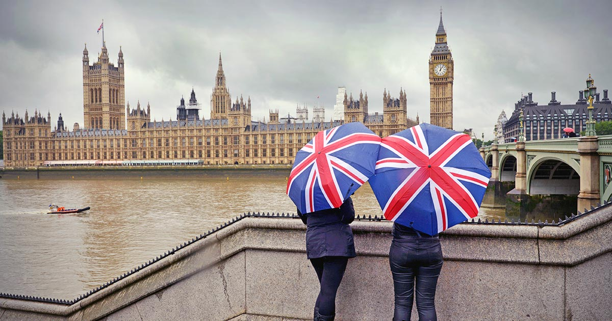 Väder klimat och temperatur i London
