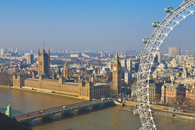 London är världens mest populära resmål