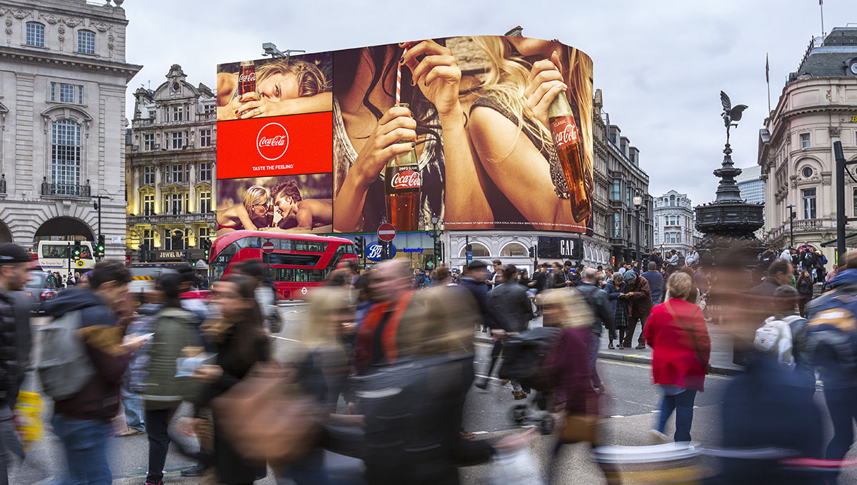 Piccadilly Circus New Screen (Photo: Ocean Outdoor)