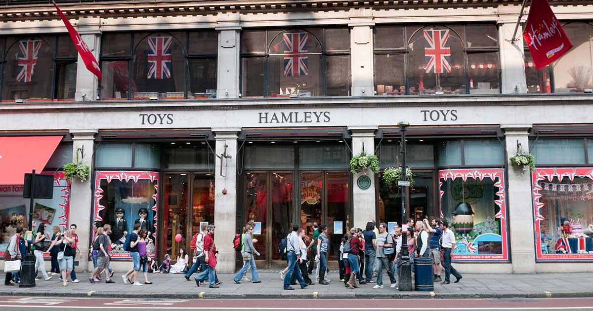 Hamleys London - världens största leksaksbutik