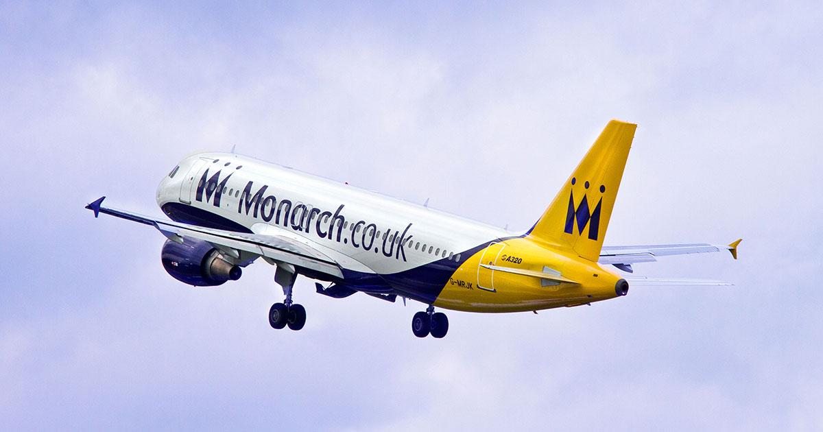 Monarch flyger från Stockholm till London-Luton