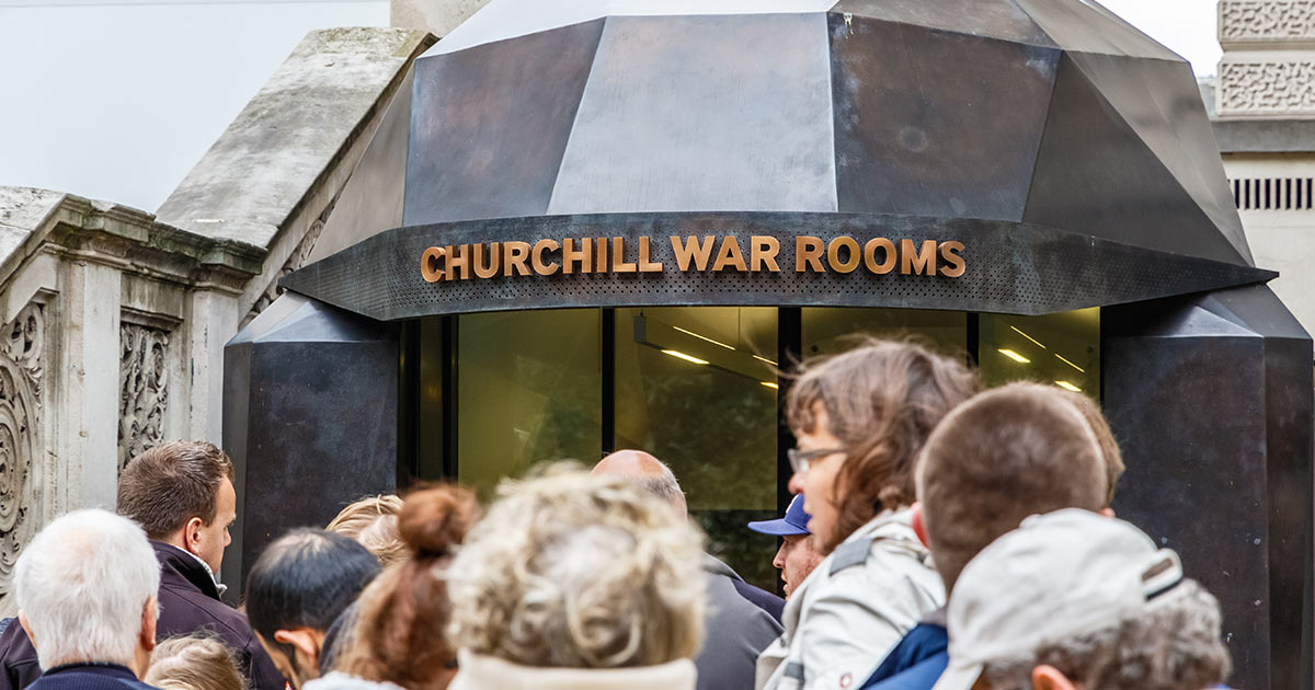 Churchill War Rooms i London