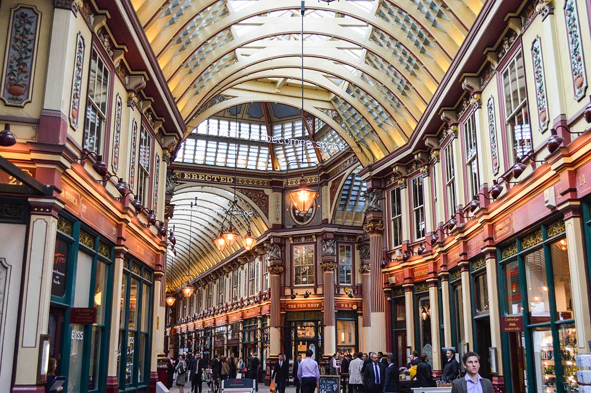 Leadenhall Market i London