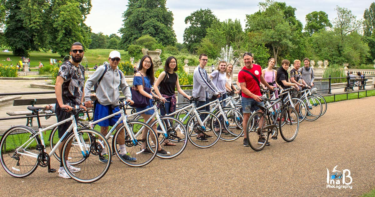 Cykla i London med Notting Hill Bike Tours