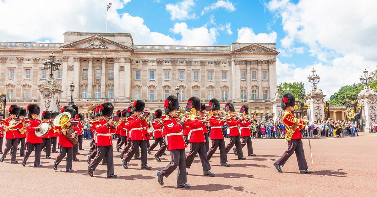 Buckingham Palace - boka biljetter
