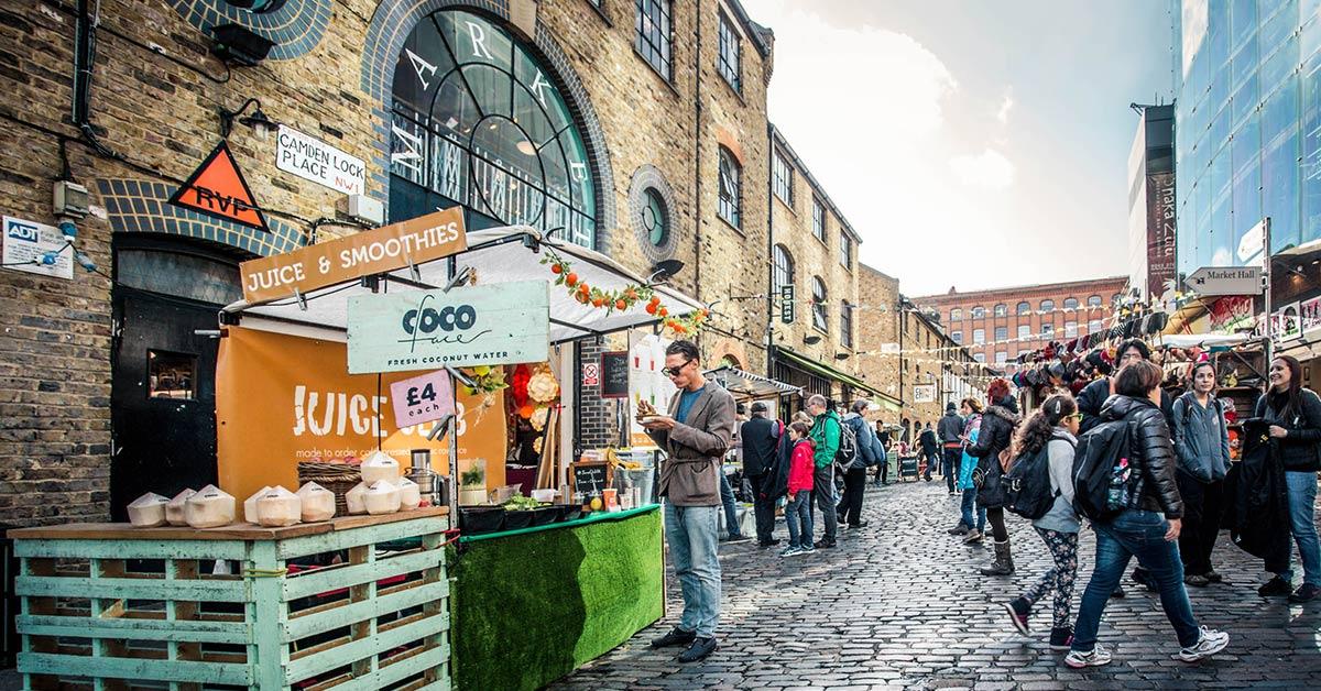 Marknader i London - våra tips!