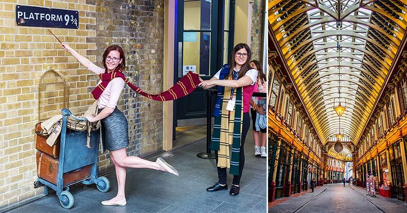 Harry Potter London - platser och guidade turer