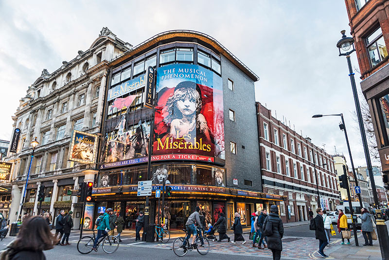 Musikaler i London West End