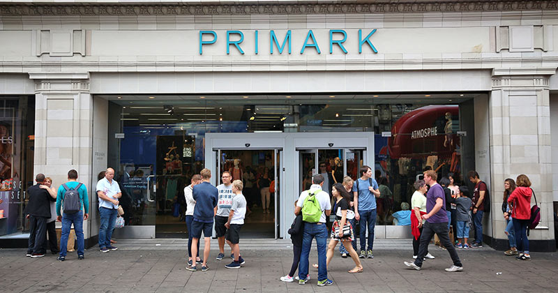 Primark London - på Oxford Street